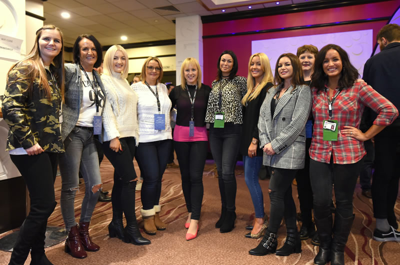 MIX Diversity Developers - Debra Searle with female delegates